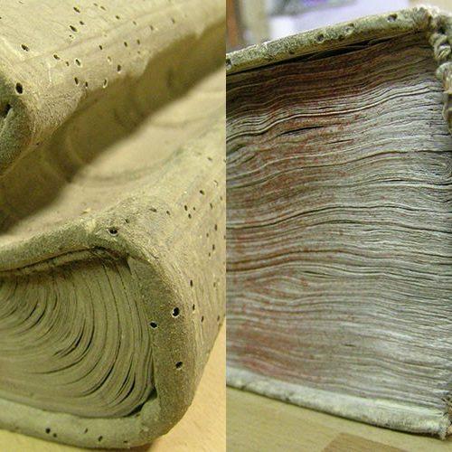 Restaurierung alter Bücher, Schriftstücke, Urkunden und Pläne buch sixl