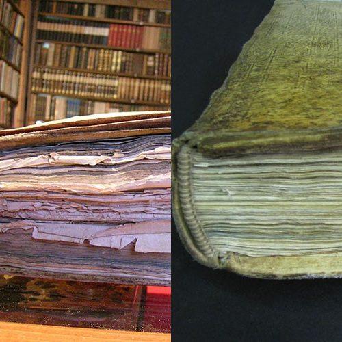 Restaurierung alter Bücher, Schriftstücke, Urkunden und Pläne sixl fuchs
