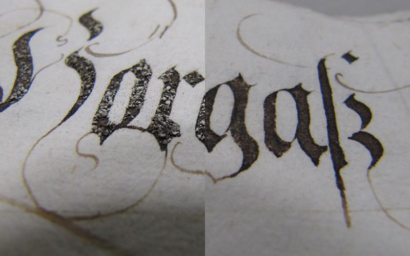 Restaurierung alter Bücher, Schriftstücke, Urkunden und Pläne sixl